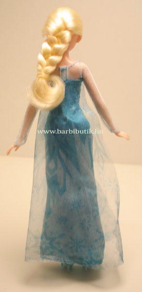 Elsa Barbie hátulról