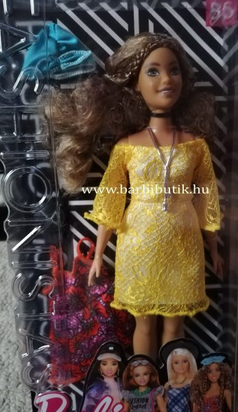 barna barbie dobozban