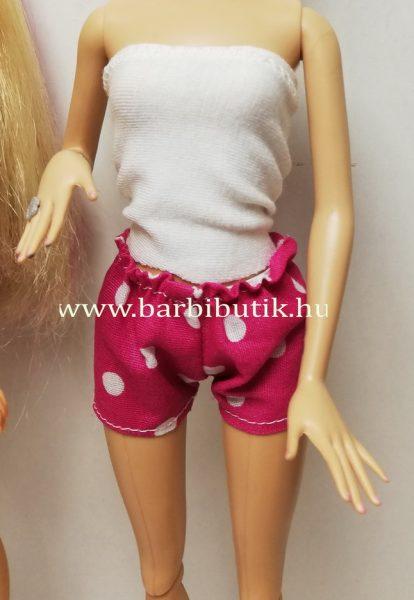 barbie rövidnadrág pöttyös