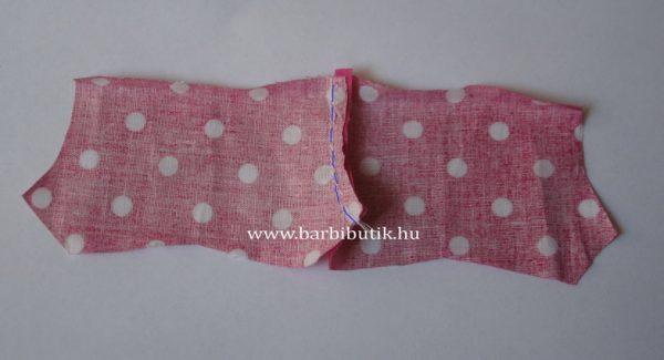 barbie rövidnadrág készítés 1