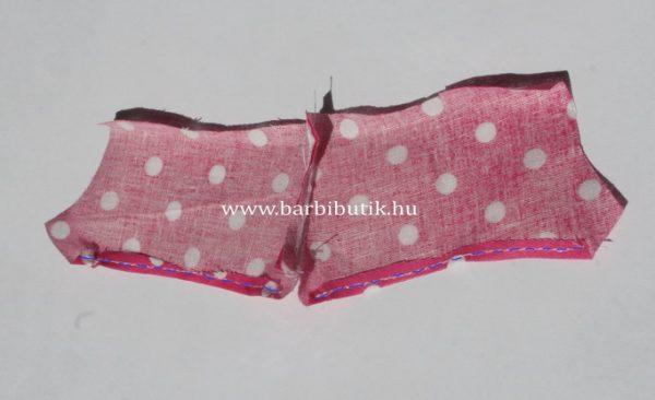 barbie rövidnadrág készítés 2