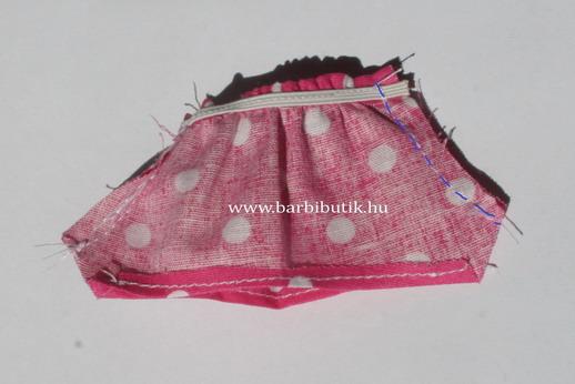 barbie rövidnadrás készítés 4