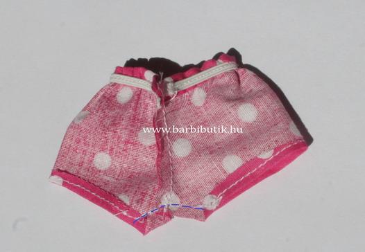 barbie rövidnadrás készítés 5