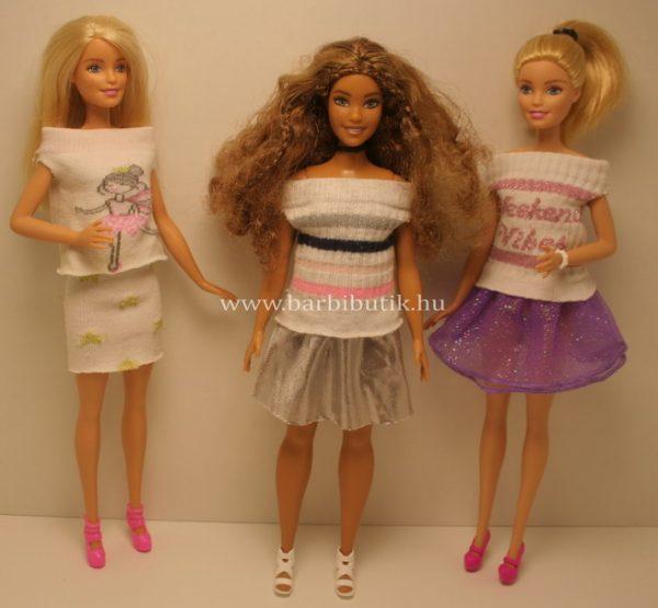 barbie ruhák_szoknyák_zokniból