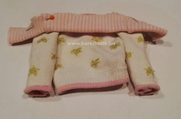 pulóver készítése  zokniból barbienak 7