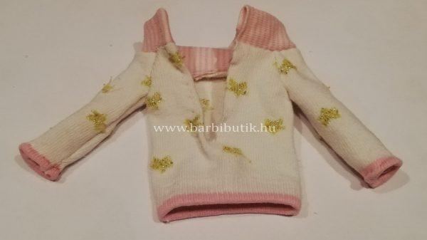 pulóver készítése  zokniból barbienak 9
