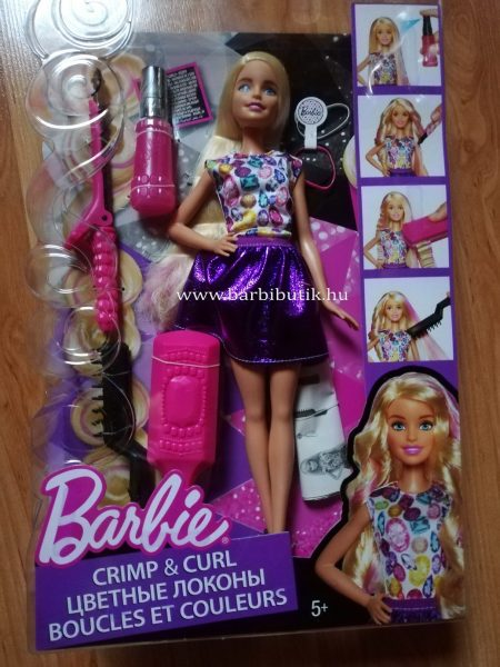 Barbie fodrász készlet