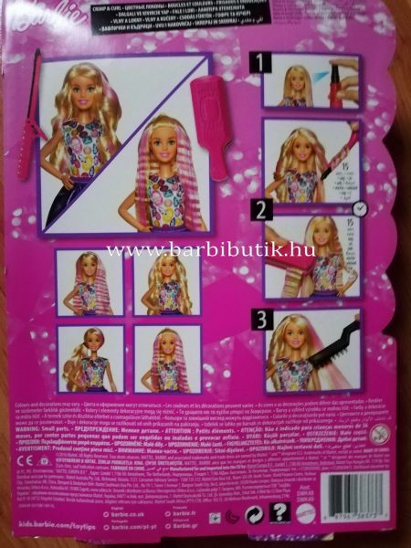 Barbie fodrász készlet 1