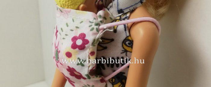 Barbie babahordozó készítése a legkisebbeknek